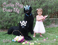 "2016 Calendar ""Curlies Dress-Up"" tumbnail image"